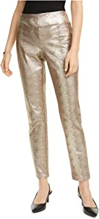 Alfani 女式金属动物长裤