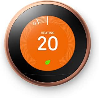 Nest Google 恒温控制器,第3代,铜色
