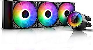 Deepcool GAMER STORM CASTLE 360RGB V2 水冷一体型 CPU冷却器 [Intel/AMD两种适用] FN1323 DP-GS-H12AR-CSL360V2