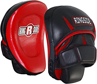 Ringside Pro Panther Punch Mitts, Red/Black, One Size