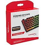 HyperX 布丁钥匙帽 - 全键套装 - PBT - 英语(美国)布局HKCPXP-BK-US/G