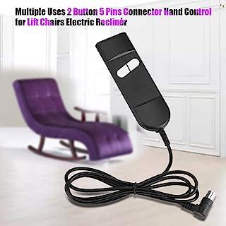 Cheresouse 躺椅手动多用途 2 键 5 针连接器手动控制升降椅电动躺椅