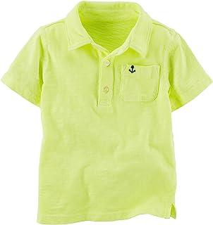 Carter ' s 婴儿中性款婴儿霓虹色 polo 衫(婴儿)