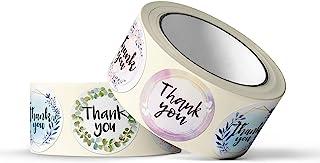 Pebble Penguin Thank You 贴纸,3.81 厘米非常适合工艺项目、婚礼、活动、生日、婴儿洗礼、小企业标签标签包装、商品、收据、简单使用(500)
