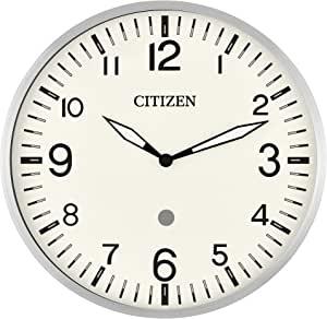 Citizen 西铁城 clocks CC5012 Citizen 智能回音兼容挂钟,带多种计时器,银色