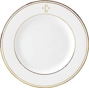 Lenox 联邦金块交织字母餐具 字母 C 872689