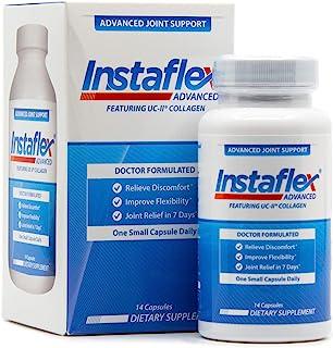 Instaflex Advanced Joint Support - **关节缓解补充剂,含 UC-II 胶原蛋白和其他 5 种关节不适对抗成分 - 14 粒