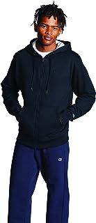 Champion Powerblend 男士羊毛全拉链帽衫