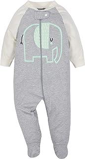 Gerber 男宝宝或女孩中性*睡衣 Sleep 'N Play 睡裤,2 件装大象图案
