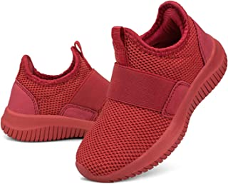 Troadlop 男童鞋轻质透气跑步网球儿童运动鞋