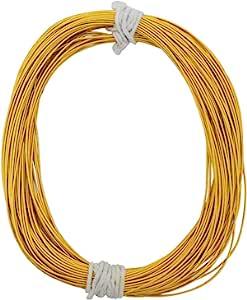 刺绣材料 Stiff Gijai 法国基姆电线,用于刺绣和珠宝制作 100 克(深金,1 毫米)