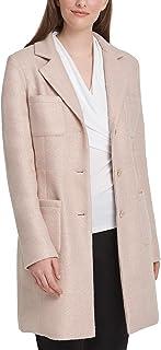D K N Y Foil-Bouclé 四口袋装饰夹克 粉色 18