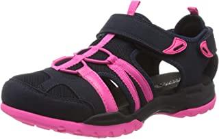 Geox 健乐士女式 D Borealis A 踝带凉鞋