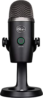 Blue Yeti Nano Premium USB Mic for Recording and Streaming-Blackout (1639)