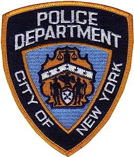 纽约市警察局补丁 - NYPD 缝制补丁 - 纽约警察补丁