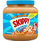 SKIPPY Peanut Butter, Creamy, 80 Ounce