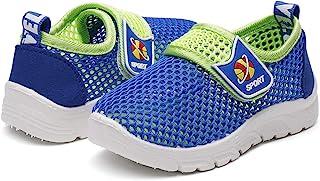 DADAWEN 男宝宝透气网眼跑步运动鞋凉鞋水鞋