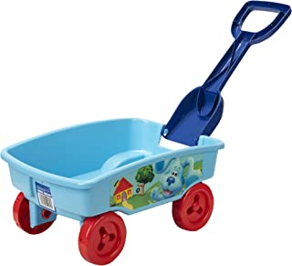 Blues Clues 四轮车,带可拆卸铲子,公园、海滩或任何地方的完美玩具!