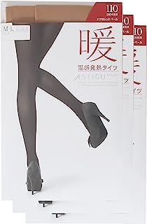 ATSUGI 厚木 紧身裤袜 ASTIGU 【暖】 温感发热紧身裤袜 110但尼尔〈3双装〉