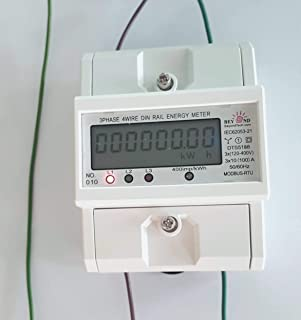 智能 Kwh 电表 内部 CT Din 导轨 能耗 120V-480V