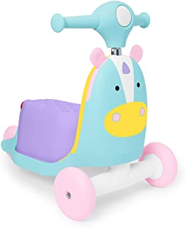 Skip Hop 儿童三合一滑板车和四轮车玩具 独角兽