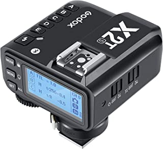 TNP X2T-N 适用于 Godox X2 系列 TTL 无线闪光触发器 2.4G X 系统发射器 兼容索尼相机速度灯 Godox TT600 V860II 户外工作室闪光灯 快门释放工具配件