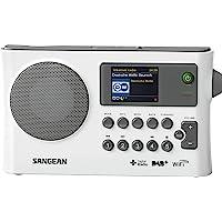 Sangean WFR-28C DAB+ 便携式立体声(数字音频广播 (DAB),MP3,互联网收音机)