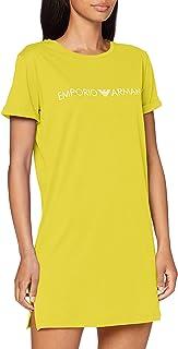 Emporio Armani 安普里奥·阿玛尼 女式超长T恤沙滩装标志情侣沙滩裙