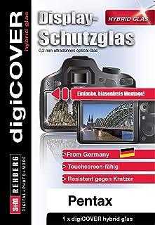 digiCOVER 混合玻璃屏幕保护膜,适用于 Pentax K-2 相机