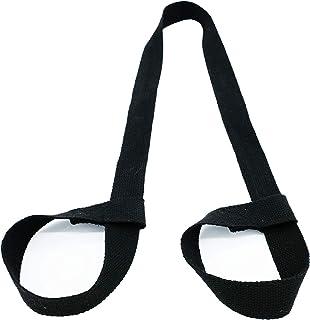 BeYogis 瑜伽垫带 – 可调节垫背带吊带,方便携带 – 亲肤材料 – 瑜伽垫带厚 2 毫米(不包括瑜伽垫)