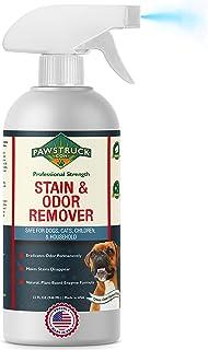 Professional Strength 污渍和气味去除剂 – 天然酶清洁剂 适用于宠物尿液、废物、葡萄酒、血液、呕吐物等 – *有效的狗猫*剂 适用于地毯、硬木等