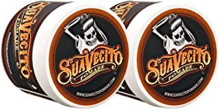 Suavecito 2盒 润发油,原样定型,8盎司/约226.80克