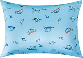Utridevn * 天然桑蚕丝幼儿枕套,适用于婴儿儿童女孩男孩*和皮肤,防*透气,光滑,柔软的双面丝绸,33.02 x 45.72 厘米(1 包动物)
