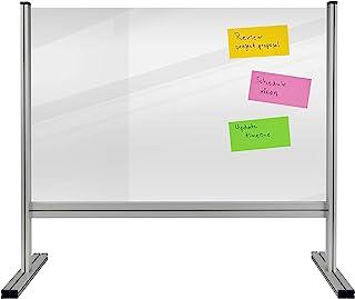 Legamaster 7-209640 桌面隔板 经济 丙烯酸玻璃 坚固的铝框架 100 x 65 厘米