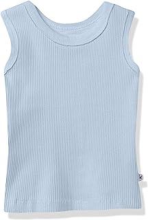 The Honest Company 婴儿*棉粗罗纹背心,肯塔基蓝色,0-3 个月