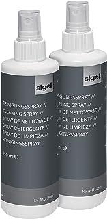 SIGEL MU201/2 白板清洁喷雾 喷雾瓶 2 × 250 毫升