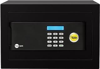 Yale YSB/400/EB1 带钥匙的保险箱,电子,黑色 黑色 20 x 35 x 20 cm YSB/200/EB1