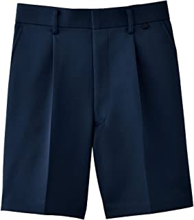 [Tombow 蜻蜓] 学生服 小学标准服装 男士夏季短裤(长款) 热带植物 T-11-38 藏青色 130A