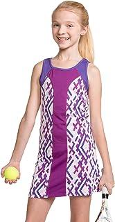 Street Tennis Club 女孩网球和高尔夫无袖连衣裙带短裤