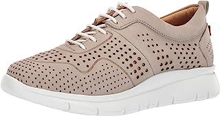 MARC JOSEPH 纽约女式皮革 Grand Central 2 超轻牛津运动鞋