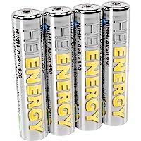HEITECH AAA Micro 950 mAh 1.2 V 镍氢电池 TÜV 测试 4 件 可充电电池 低自放电电池…