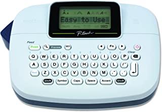 Brother 兄弟 P-touch PTM95 便捷标签制作器,9种样式,8种Deco模式样式,海军蓝,蓝灰色