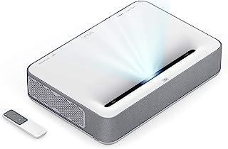 VAVA 4K UHD 激光电视家庭影院投影仪 | 明亮 2500 流明 | 超短投 | HDR10 | 内置 Harman Kardon 条形音箱 | ALPD 3.0 | 智能安卓系统,白色