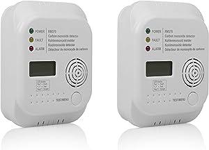 Smartwares RM370/2 一氧化碳警报 - 7 年传感器 - 包括1年电池 - 显示 - 2 包