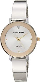 Anne Klein 安妮克莱因 女式正品钻石表盘手镯手表,AK/3566