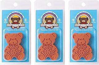 Brown Sugar Bear 原装棕色糖保存和软化剂,赤褐色,3 件套