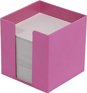 Metzger & Mendle 便条盒 95x95x95mm Blauer Engel, ibisco (rosa), Recycling-Papier
