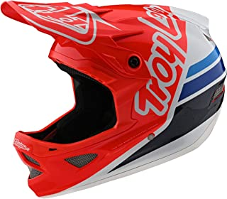 Troy Lee Designs D3 Fiberlite Silhouette 成人越野 BMX 自行车头盔