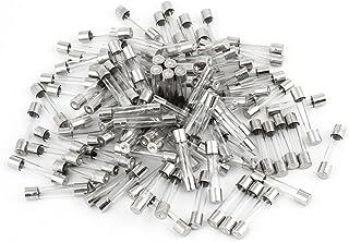 100 件 250 伏 15 安培快速吹风玻璃管保险丝 6mm x 30mm