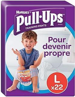 Huggies - Pull-Ups,男孩尿布裤,尺码 6 / 大号(16-23 千克),清洁后裤,迪士尼汽车(1 件装,22 件)